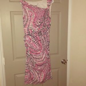 Maggy London|Asymmetrical Midi Dress SZ 12